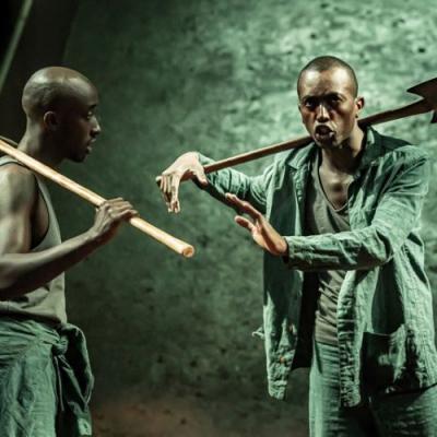 Roger Jean Nsengiyumva (L) Faaiz Mbelizi Blood Wedding (c) Marc Brenner
